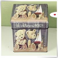 little bear folding ottoman