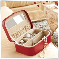 luxury pu leather jewelry box for girls