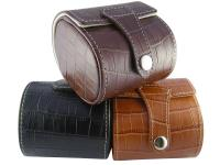 leather watch travel box