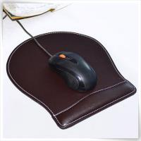 black mouse pad with wrist rest