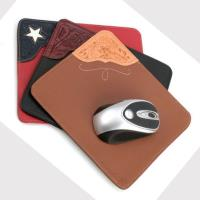 classical pu leather mouse pad