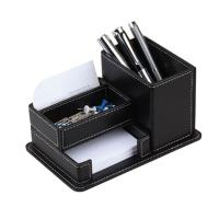 Black pen holder