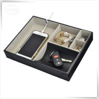 Leatherette Valet Tray