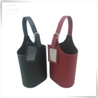 Leatherette wine carrier