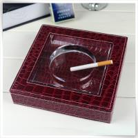Square Leather Ashtray