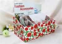 Printing design tissue box