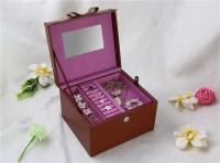 Brown jewelry box