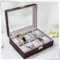 Crocodile 10 slots watch box