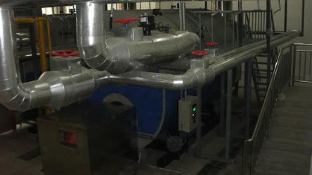 泉州锅炉房噪声治理竣工图
