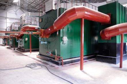 福州锅炉房噪声治理竣工图