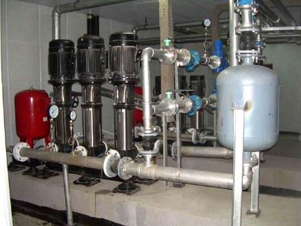 福建水泵机房噪声治理竣工图