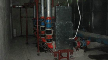 福建泉州水泵机房噪声治理竣工图