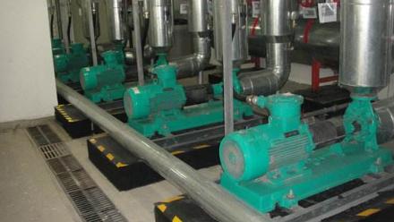 福建三明水泵机房噪声治理竣工图