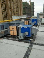 酒店商场厨房风机如何进行噪音治理