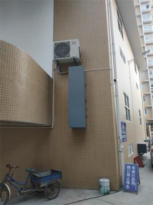 龙岩漳平市城区配电站房轴流风机噪音改造工程顺利竣工