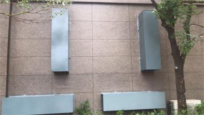 龙岩市辖郊区2019年配电站房降噪治理(郊区供电服务中心各配电室轴流风机安装消声器)