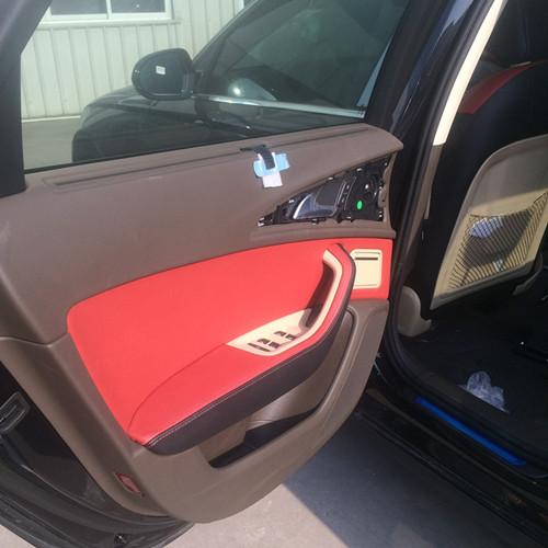 泉州奥迪座椅加装个性款真皮座椅 泉州汽车真皮高清图片