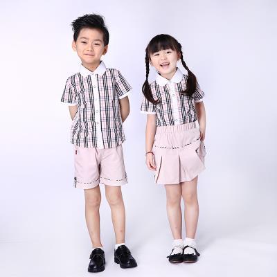 校园博士品牌校服加盟定做幼儿园英伦园服时尚夏装