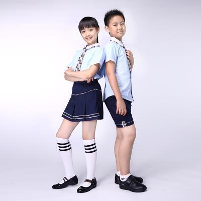 校园博士品牌校服定做校服裙英伦风格夏装衬衫套装