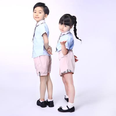 校园博士品牌校服加盟幼儿园园服夏季时尚学院派短款套装