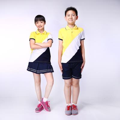 校园博士品牌校服定做小学校服夏装透气运动服套装