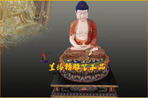 木雕佛像 -莆田市兰缘精雕艺术品有限公司
