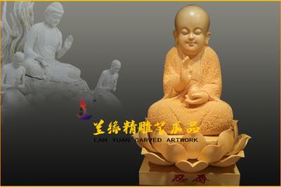 木雕佛像 (小沙弥)