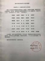 福州市武术协会关于对武术套路郑瑞鸿等37人二级裁判员进行公示的通知